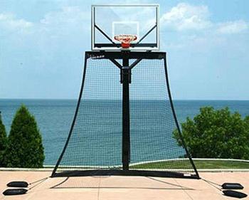Pinmydreambackyard Basketball Goal Rebounding Net Quot My