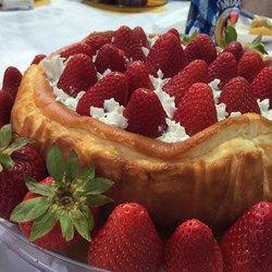 Chantals New York Cheesecake - Allrecipes.com