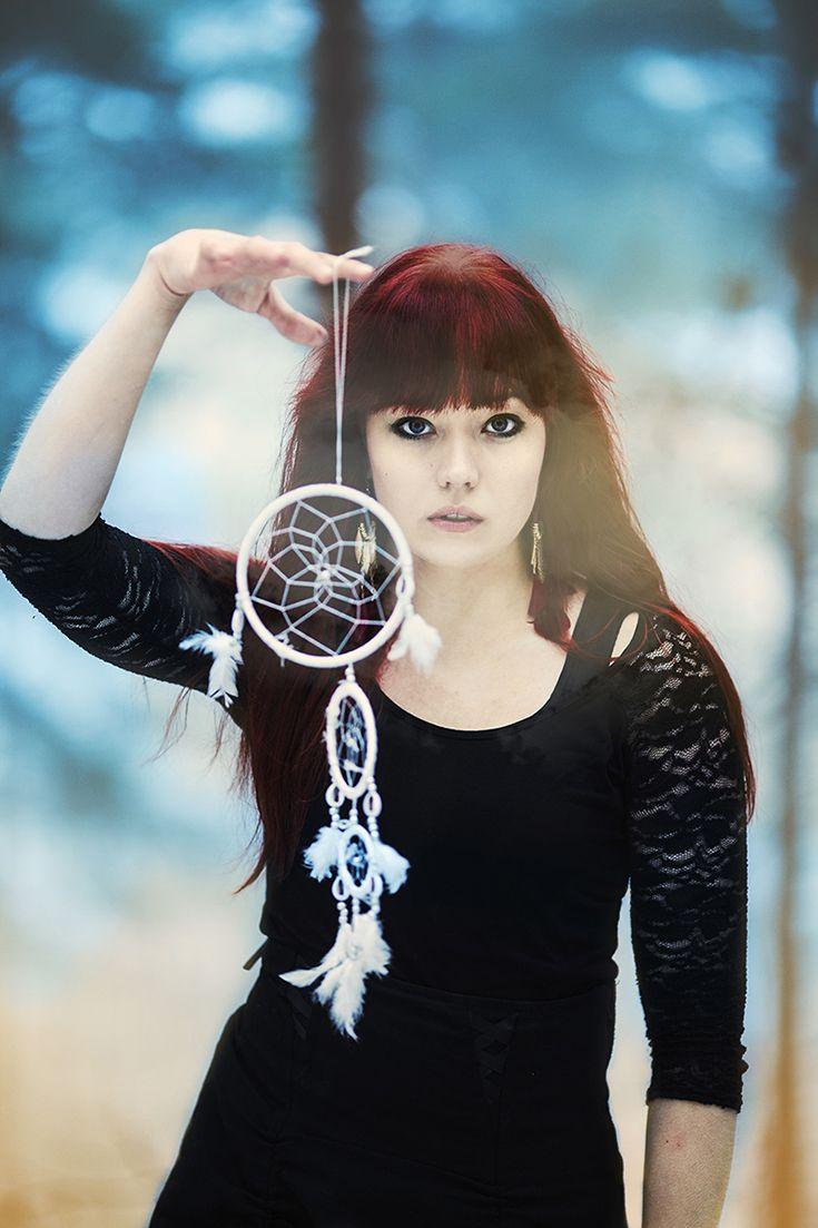 """Ending nightmare"" (c) Minna Kaita Photo #photography #fantasy #conceptual #dreamcatcher #blue"
