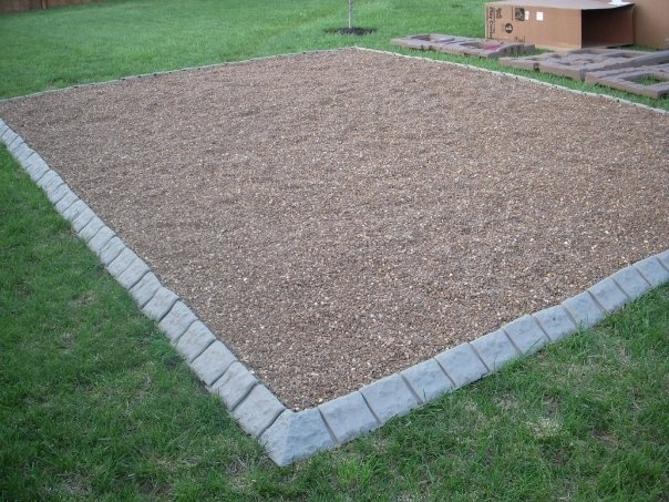 1000 images about playground edging on for Decorative stone garden border