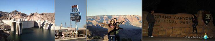 Costa Oeste de EEUU - Gran Cañón - Presa Hoover - Ruta 66