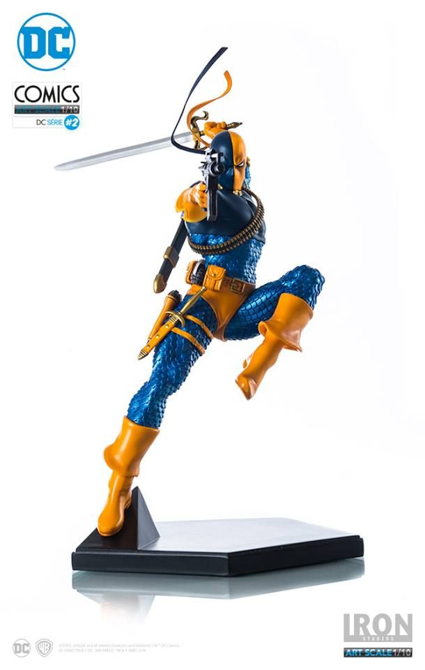 Estátua Deathstroke - DC Comics series 2 - Art Scale 1/10 - 23 cm - Iron Studios   Comic Store Brasil