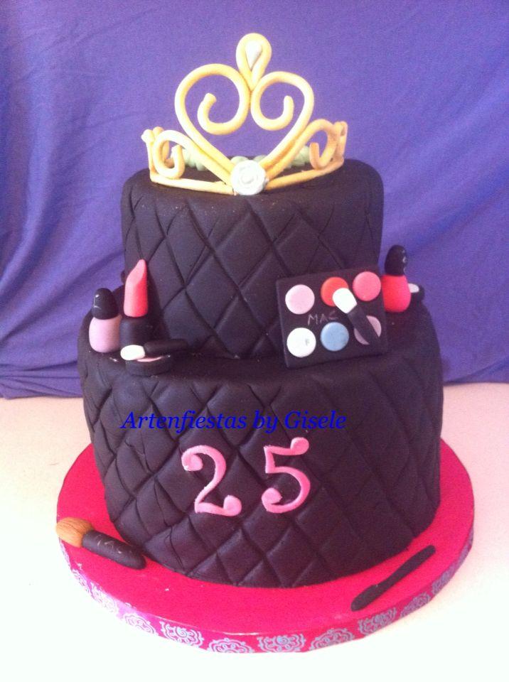 makeup cake 25