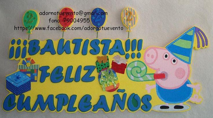 Cartel para cumpleaños