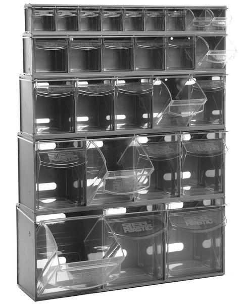 Van Storage - Complete Tilt Bin Kit (27 compartments)