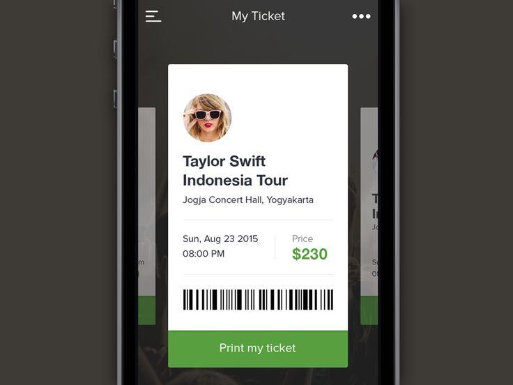 My Ticket by Dwinawan Hariwijaya