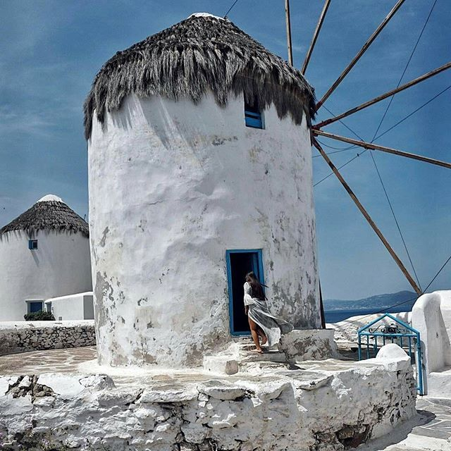Mykonos, Cyclades... Photo from @sprs_! The famous windmills of Mykonos... #mykonos #mykonostown #mykonosisland #mykonos2017 #cyclades #cyclades_islands #aegean #aegeansea #greekislands #greekisland #windmill #greece #greek