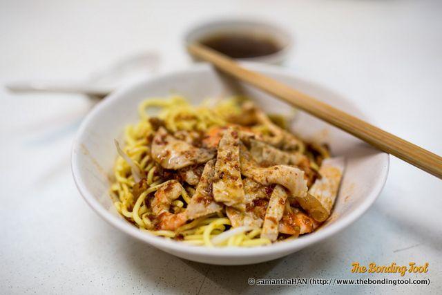 Prawn Noodle Menu Item #1 - S$4.50 Hock Prawn Mee 福鰕面 Inside Shing Boon Hwa Food Centre (Kopitiam is opposite Sim Lim Tower) Address: 43 Jalan Besar, Singapore 208804. Operating hours: Closed on Sunday nights Mon- Sat: 24-hours