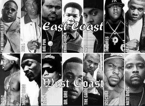 Costas este y oeste *-*