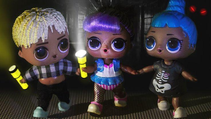 НОЧЬ В ШКОЛЕ! Мультики куклы лол и Барби. Подруги Буги ...