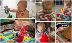 Sensory Box - Activity for 7-9 Month olds. Looks like so much fun :) I can't wait to try it with J