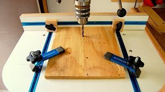 How to Build a Drill Press Table Pt 1 - YouTube