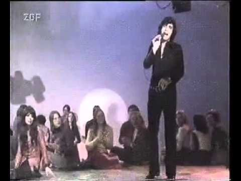 "Andy Kim performing ""Be My Baby"" on German TV. (That's Mariska Veres from Shocking Blue [""Venus""] with him.)"