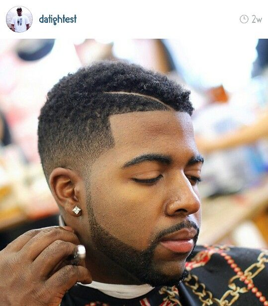 Shadow Fade With Natural On Top...cut By @datightest On Instagram.