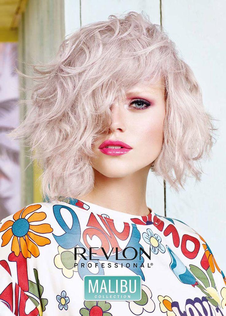 Jarní a letní účesy 2016 od Revlon Professional přejí trendu Pearlescent. Je…