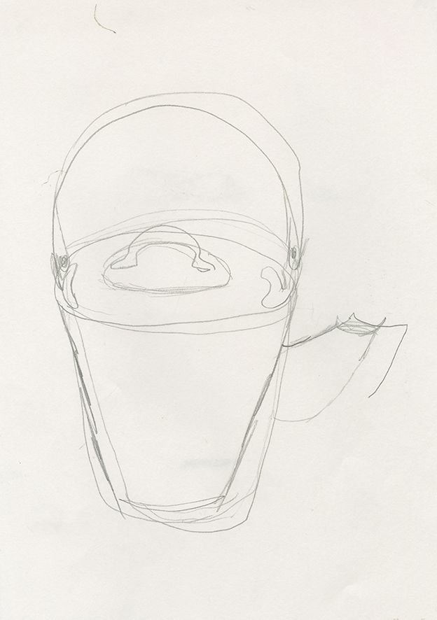 Blind line drawing
