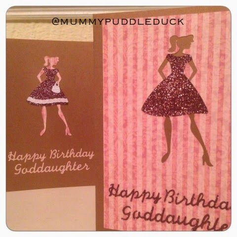 Make it May - a new greetings card for every day of May 2015 by Mummypuddleduck #Birthdaycard #dress #fashion #birthday #card #handmade #onlinecraft