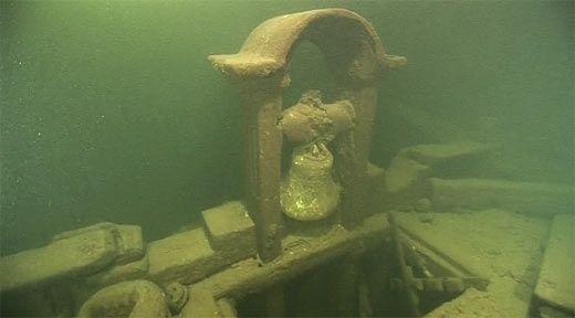 Utrolig skipsvrak i Finskebukta