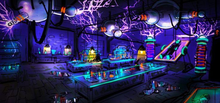Tony Hawk: Shred - Haunted Lab