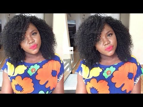$18.00 Freetress water Wave hair review and tutorial - YouTube
