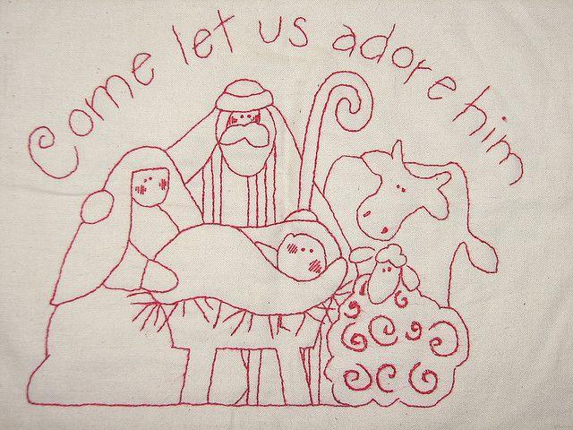 free printable nativity scene patterns   Design Patterns » Nativity Sewing Patterns