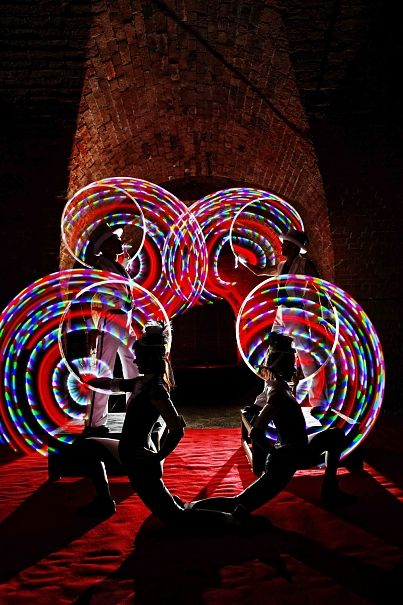 Looking for a spectacular act worthy of your own opening ceremony? This mesmerising 'Glow Show' is a great way to kick off any event.