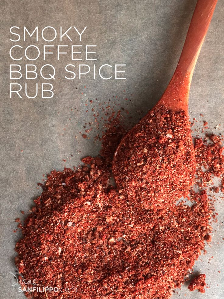 Smoky Coffee BBQ Spice Rub