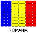 The Beaded Romanian Flag!