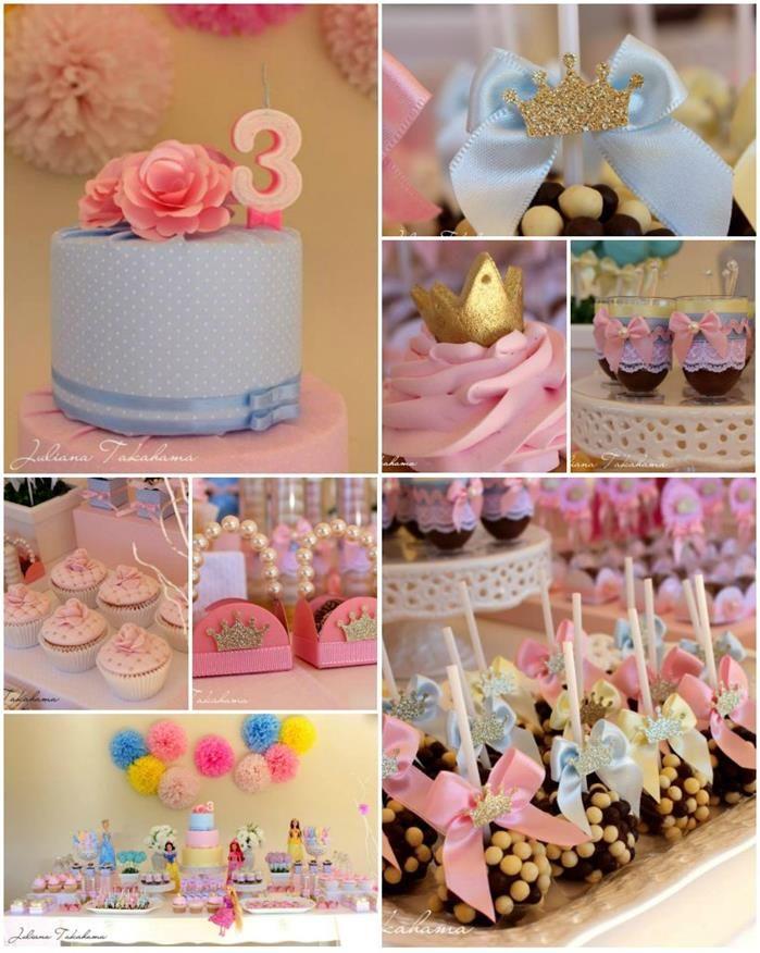 Princess+Birthday+Decoration+Ideas | Disney Princess Party with REALLY CUTE IDEAS via Kara's Party Ideas ...