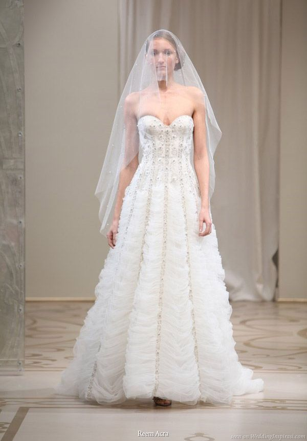 Reem Acra Spring 2010 Bridal Collection Rapunzel Wedding DressPrincess