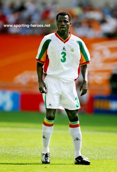Papa Sarr - Senegal - FIFA Coupe du Monde 2002