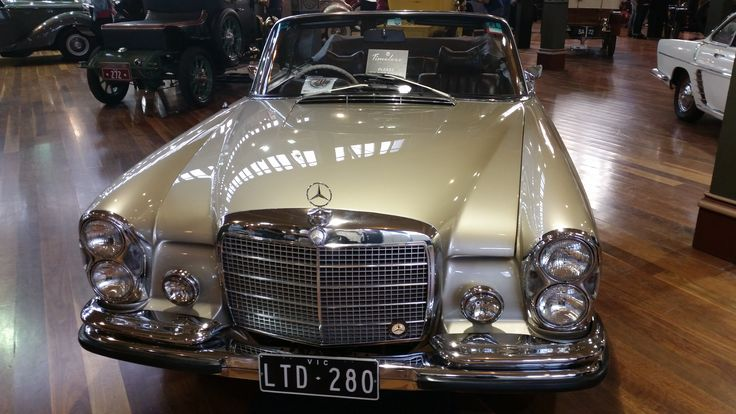 Mercedes-Benz on display at the 2014 Motorclassica with 3x3 plate LTD.280