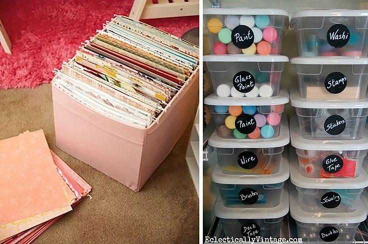 17 mejores im genes sobre ideas en pinterest sobres - Ideas para organizar papeles en casa ...