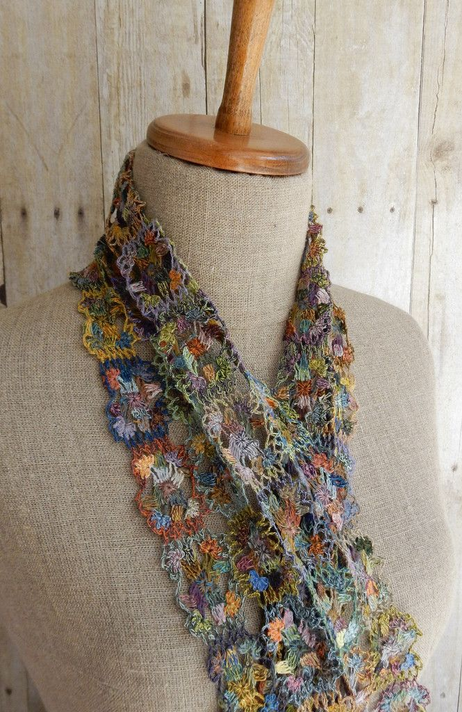 """""""Licorne"""" linen scarf - small – French Needlework Kits, Cross Stitch, Embroidery, Sophie Digard – The French Needle"""