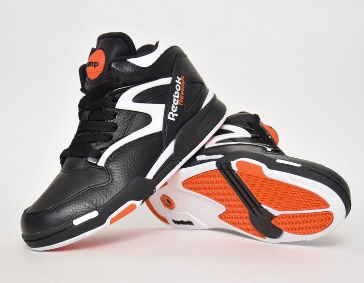 00fd09d52e44 ... Reebok Pump Dee Brown Black sneakers ...