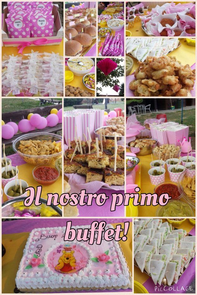 Il nostro primo buffet per la piccola Chiara