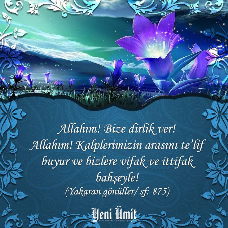 Hayırlı Cumalar… #yeniumitdergi #kulturdergileri #dergi #magazine #kulturdergi #ilimdergi #diniilimler #islam #millet #camia #akademik #muhur #Peygamber #dua #cuma #friday #pray