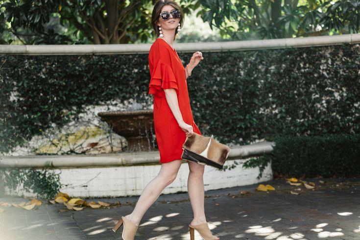 Zara dress- little red dress