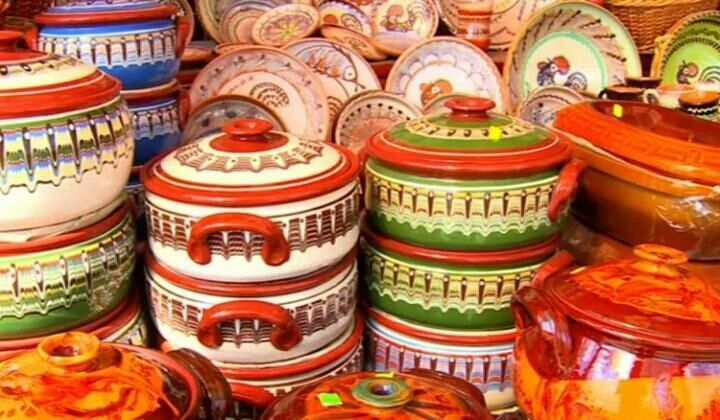 Pottery,  Romania