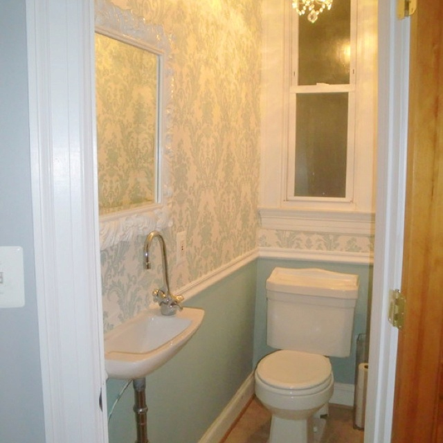 14 best powder room images on pinterest bathroom Pretty powder room ideas