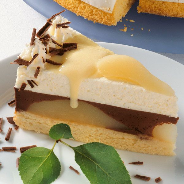 Rezept für Torte Birne Helene