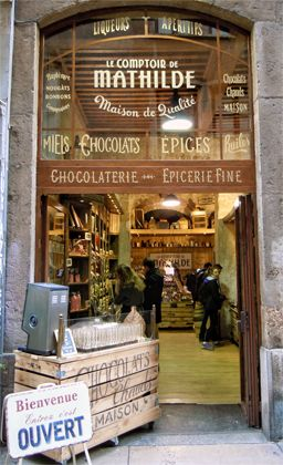 Vieux Lyon, Old Lyon Town, France : The Good Life France