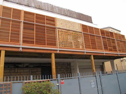 Terrasse étanche avec bac acier et platelage bois ipé