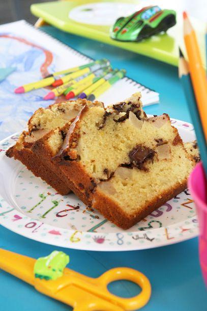 κέϊκ σοκολάτα με αχλάδια