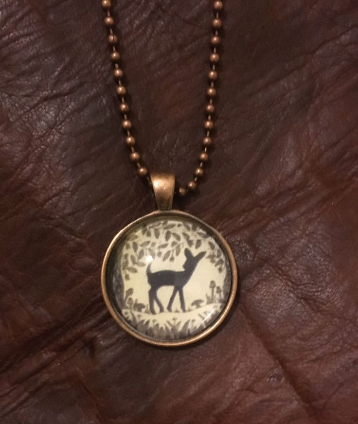 A personal favourite from my Etsy shop https://www.etsy.com/au/listing/468329866/copper-or-silver-bambi-deer-art-pendant