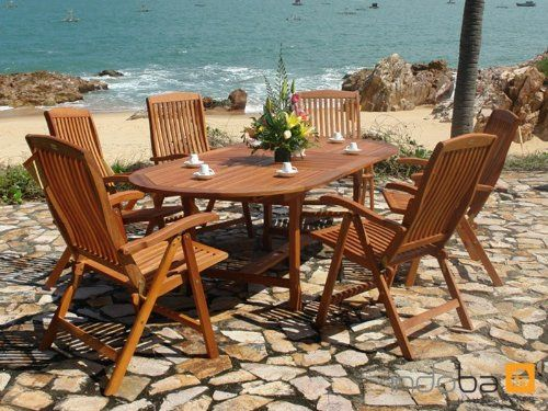 Gartenmobel Set Catania : indoba® IND70010SFSE7  Serie Sun Flair  Gartenmöbel Set 7teilig