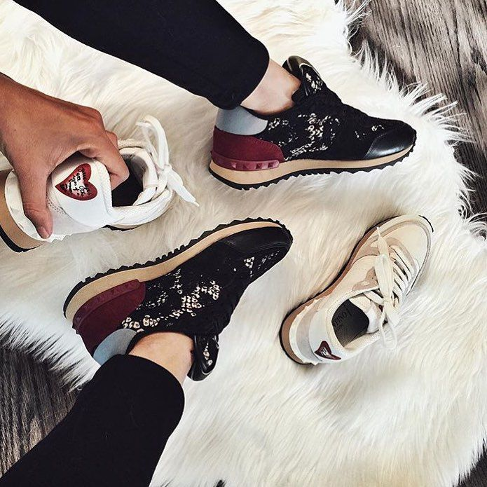 Valentino rockrunners. | @sincerelygab