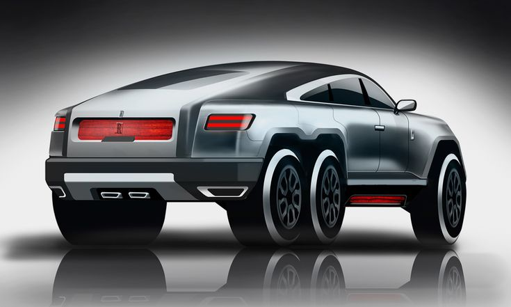 Vivek, an automotive designer from Bangalore, India, wondered what would happen if the Rolls-Royce-loving elite wanted to do a bit of off-roading. The result of his wandering mind is the vehicle you see before you, an insane, 6x6 Rolls-Royce built for damn near anything. He wanted the vehicle to appear