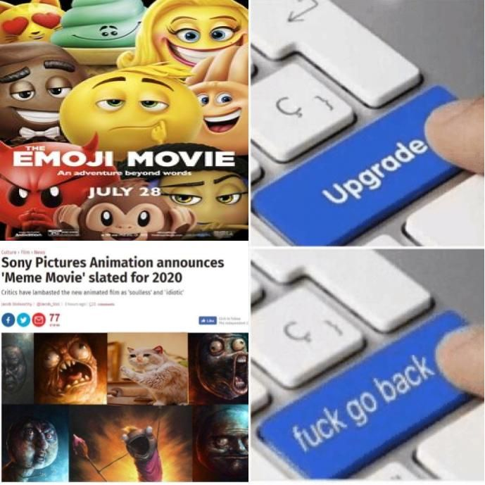 """thank god there isn't actually gonna be a """"meme movie"""" (at least not anytime soon)"""