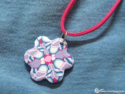 ♥Handmade polymer clay jewelry by Colour Happy / Adele